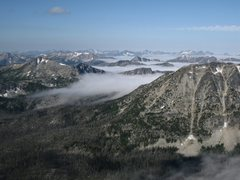 Rock Climbing Photo: View West from the summit of Mt Remmel