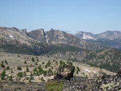 Rock Climbing Photo: Bauerman Ridge from the East.