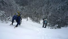 Rock Climbing Photo: NC's primo snow slope!