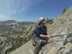 Rock Climbing Photo: Michelle on Theater of Shadows.
