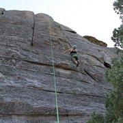 Rock Climbing Photo: Pure pleasure 5.6*** window rock