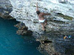 Rock Climbing Photo: Bermuda deep water soloing