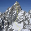 Grand Teton, North Face.