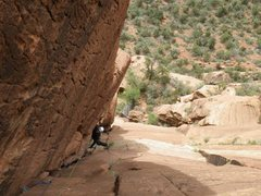 Rock Climbing Photo: Iron Messiah p4 maybe