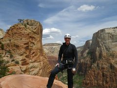 Rock Climbing Photo: Top of Spearhead
