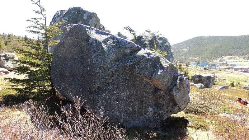 Rock Climbing Photo: Scrambled Eggs