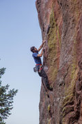Rock Climbing Photo: Said high on the The Shaft, 6/12/14.  Climbing Pho...