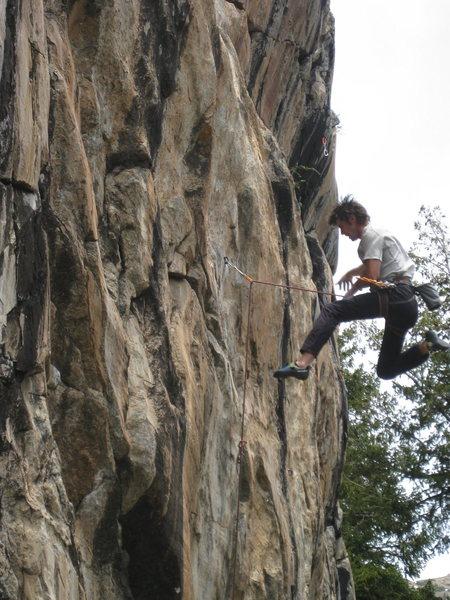 Rock Climbing Photo: Nathan Martinez no longer on Fear of a Punk World.