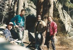 Rock Climbing Photo: Jim Slichter, Tom Anderson, Vern Phinney, Dave Ron...