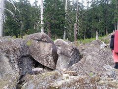 Rock Climbing Photo: Nice overhang