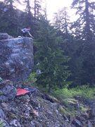 Rock Climbing Photo: Rewilding boulder