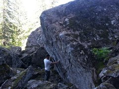 Rock Climbing Photo: Extra crispy area
