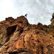 Rock Climbing Photo: At the anchors (which are beginning to show their ...