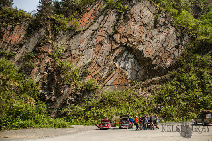 The last day of the 2014 Valdez Rock Climbing Festival<br>