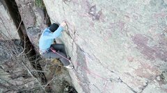 """Rock Climbing Photo: Hi Nezbit. Is this what you refer to as """"movi..."""