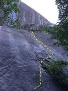 Rock Climbing Photo: Cruisin', Laurel Knob, NC