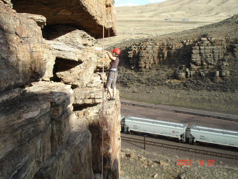 Rock Climbing Photo: Driver 8 Take a Break