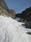 Rock Climbing Photo: Chaos Couloir