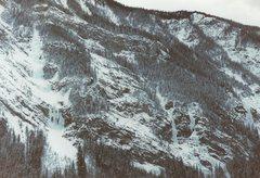 Rock Climbing Photo: Mt. Dennis with (L to R) Pilsner Pillar, Carlsberg...