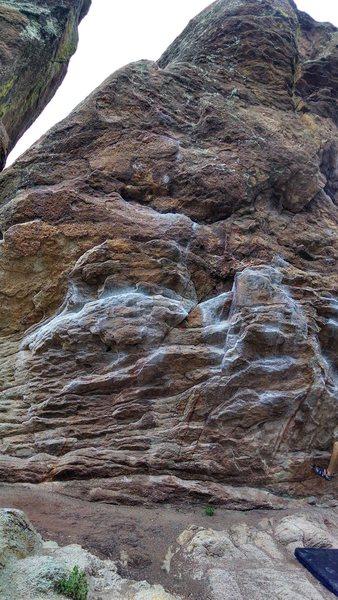 Rock Climbing Photo: Y-Right.