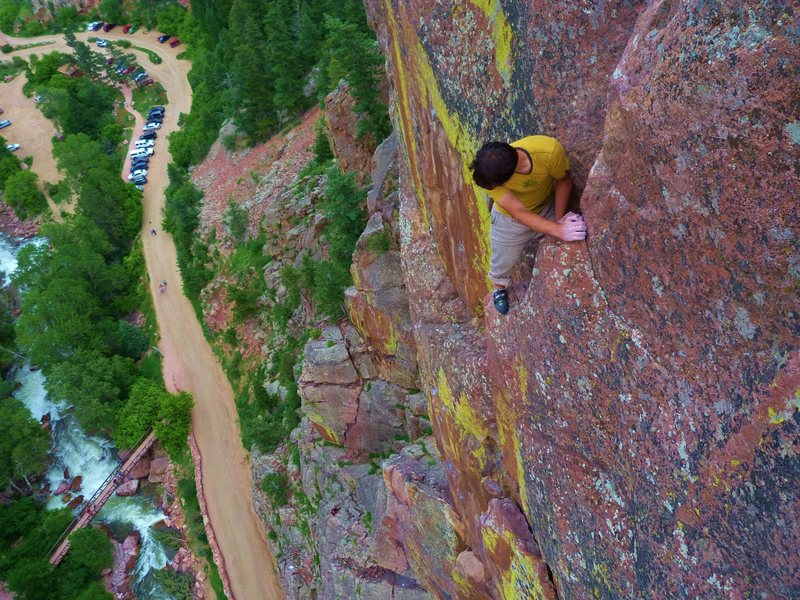 Rock Climbing Photo: Photo by Scott Bennett.