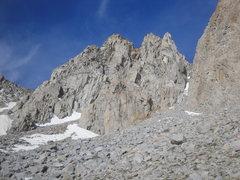 Rock Climbing Photo: Pyramid Peak.