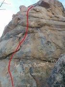 Rock Climbing Photo: Arrogant bastard topo