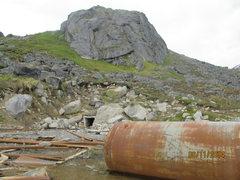 Rock Climbing Photo: The Monolith, Hatcher Pass, AK