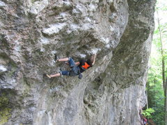 Rock Climbing Photo: Victor in Master Blaster (5.13c/d).