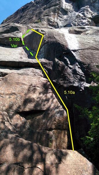 Rock Climbing Photo: Imperial Directe