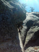 Rock Climbing Photo: Wet Dreams