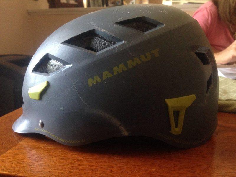 Mammut El Cap stress mark #1