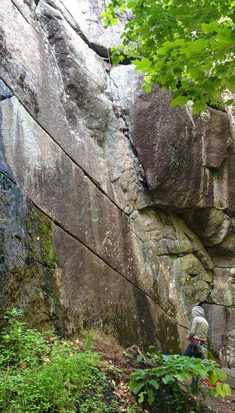 Rock Climbing Photo: Bastard Start