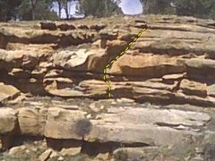 Rock Climbing Photo: Nice Diagonal.