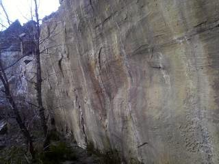 Rock Climbing Photo: Oh....