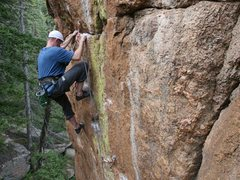 Rock Climbing Photo: Steep granite.