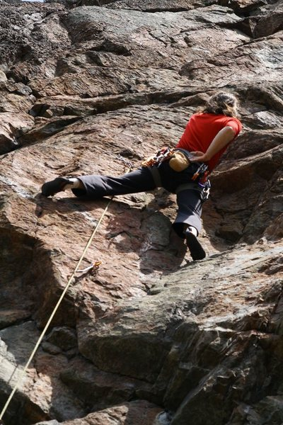 Rock Climbing Photo: matthew nauman (me) just above the crux of  Claim ...