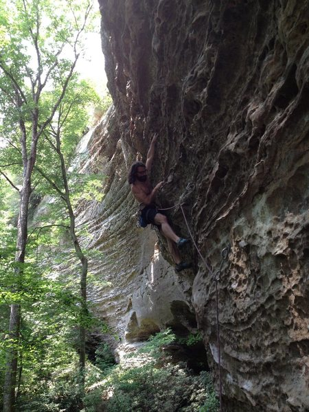 Rock Climbing Photo: Red River Gorge