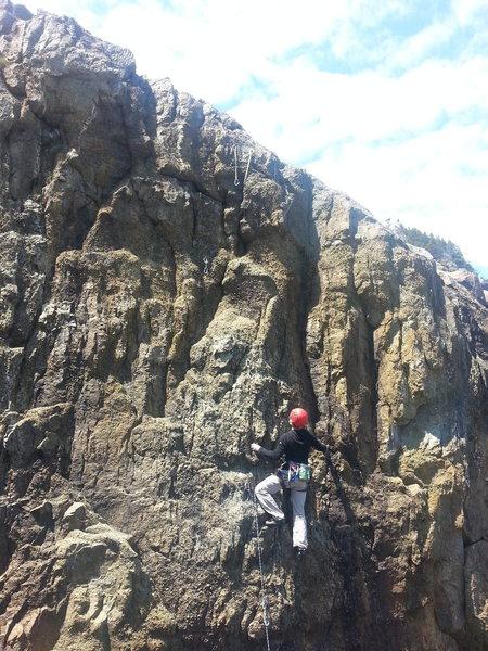 Rock Climbing Photo: Even Tide