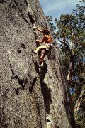 Rock Climbing Photo: Climbing Taurus back in 1987