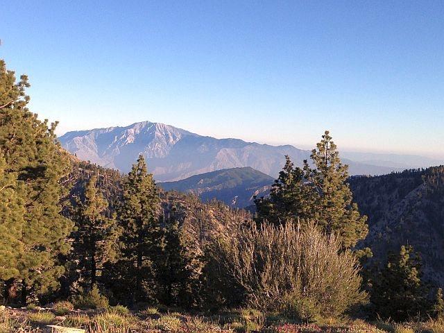 San Jacinto Peak from the flanks of San Gorgonio