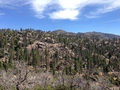 Rock Climbing Photo: Holcomb Creek Area, San Bernardino Mountains