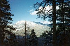 Rock Climbing Photo: Sugarloaf from Hwy 38, San Bernardino Mountains