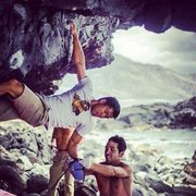 Rock Climbing Photo: Teamwork!