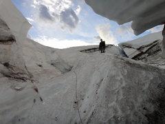 Rock Climbing Photo: Crossing Carbon