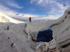 Rock Climbing Photo: Carbon crossing