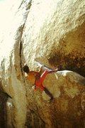 Rock Climbing Photo: On-sight solo (1987)