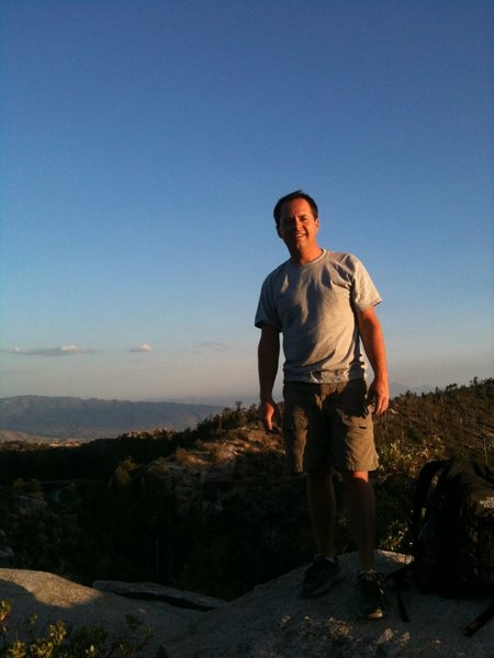 Rock Climbing Photo: Hiking out of Rose Canyon after a great afternoon ...