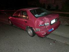 Rock Climbing Photo: Drunk driver killed my car.