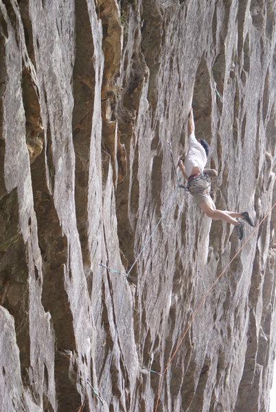 Rock Climbing Photo: Tapeworm
